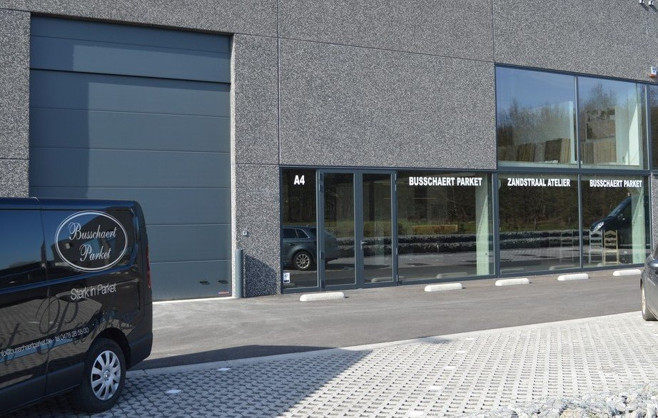 Busschaert Parquet showroom