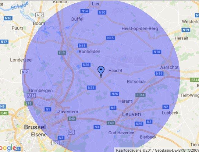 Busschaert Parquet dans un rayon de 20 km